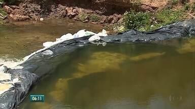 Compesa explica a captação de água no Rio Pirangi - Especialistas vem criticando a forma como foi feita.