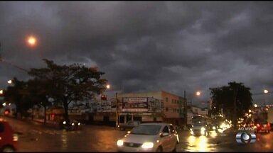 Confira a previsão do tempo para Goiás - Várias cidades podem ter chuva leve no fim da tarde desta quarta-feira (5).