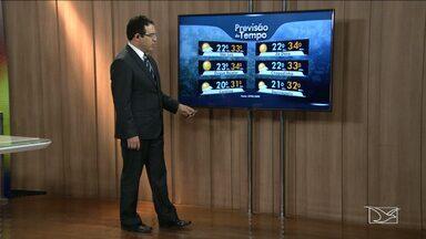 Veja a previsão do tempo para esta quarta-feira (05) no MA - Em algumas cidades o sol aparece forte e em outras o predomínio é de nuvens com possibilidade de chuva a qualquer hora.