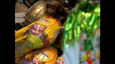 Comércio de chocolates estão otimistas para a páscoa desse ano - E nossa equipe foi conferir como andam os preços dos chocolates.
