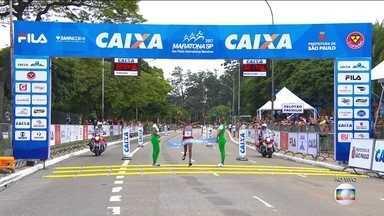 Quenianos vencem a Maratona Internacional de São Paulo e brasileiros chegam logo atrás - Quenianos vencem a Maratona Internacional de São Paulo e brasileiros chegam logo atrás