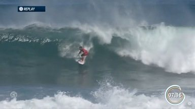 Filipe Toledo é eliminado na semifinal da etapa de Margaret River do mundial de surfe - Brasileiro subiu para oitava colocação no mundial.