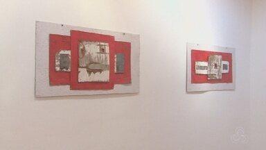 Artista amapaense cria exposição em tela com materiais reciclados - O lixo virou arte nas mãos do artista Josaphar.