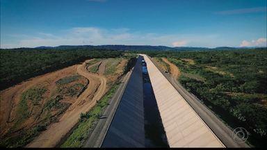 Primeiro episódio da série Transposição mostra o andamento das águas na Paraíba - Série do repórter Laerte Cerqueira mostra caminhos das águas do Rio São Francisco.
