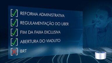 Felício faz 100 dias como porefeito de São José - Saiba o que foi feito nos primeiros dias da gestão.