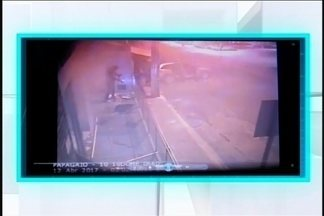 Imagens mostram ação de quadrilha que explodiu caixas em Papagaios - Ninguém foi preso até o momento.