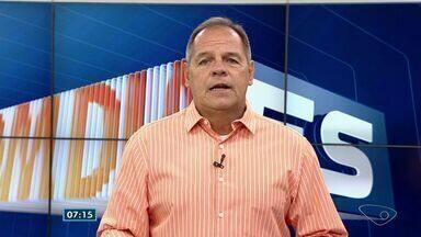 Comentarista do ES traz os destaques do esporte nesta quinta-feira (13) - Teve jogo da Liga dos Campeões.