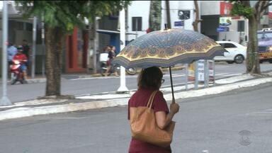 Segundo Aesa, choveu em todas as regiões da Paraíba nesta quinta-feira (13) - Durante a manhã, choveu 29,9 milímetros em Campina Grande.Chove bastante na cidade de Taperoá, Cariri paraibano.