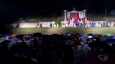 Jaguaré, ES, tem encenação emocionante da Paixão de Cristo - Em Jacupemba também teve apresentação.