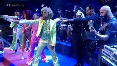 Dream Team do Passinho abre o programa com cover do Jackson Five - Serginho apresenta os convidados