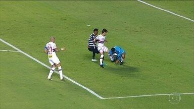 Tite parabeniza Rodrigo Caio pela atitude do jogador na partida contra o São Paulo - Tite parabeniza Rodrigo Caio pela atitude do jogador na partida contra o São Paulo