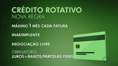 Próxima fatura do cartão de crédito virá com novas regras do pagamento rotativo - Próxima fatura do cartão de crédito virá com novas regras do pagamento rotativo.