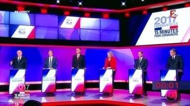 França diz que segurança está pronta para o 1º turno da eleição presidencial - É difícil prever as consequências políticas de mais um ataque terrorista na França. Para muitos analistas, o atentado em Paris pode ajudar Marine Le Pen, que está em segundo lugar nas pesquisas, e focou a campanha em questões como segurança, imigração e na luta contra o radicalismo islâmico.