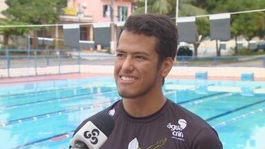 Amazonense disputará duas provas de maratona aquática em dois dias - Victor Gadelha participará de duas provas em Ilha do Mel, no Paraná. Veja como está a expectativa e preparação do atleta.