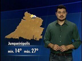 Tiago Rodrigues antecipa a previsão do tempo para o final de semana - Saiba como ficam as temperaturas no Oeste Paulista.