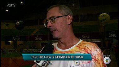 Veja o que está rolando no Ginásio do Sesc na Copa TV Grande Rio nesta sexta-feira (21) - As partidas acontecem no Ginásio do Sesc.