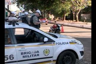 Brigada Militar de Cruz Alta,RS, realiza a operação avante - Ações foram realizadas em comemoração ao dia do policial militar.