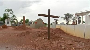 Pesquisa da Pastoral da Terra mostra aumento da violência no campo - Conflitos no campo em Mato Grosso aumentaram 25% em 2016. Noroeste do estado, onde chacina aconteceu tem reforço policial.