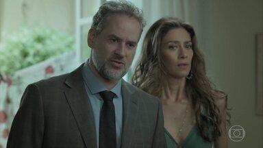 Eugênio descobre gravidez de Ritinha - Joyce faz acusações contra Bibi e Rita diz que não vai voltar para Belém