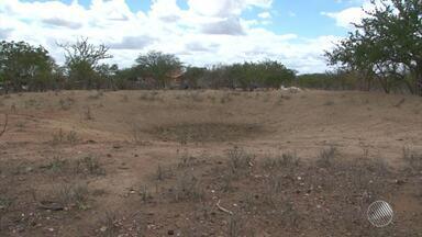 População sofre com abastecimento de água feito por carros-pipa em Jaguarari - A quantidade de veículos não é suficiente. Veja no quadro da Previsão do Tempo.