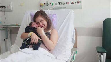 Hospital dos Estivadores registra 500 nascimentos após reabertura - Bebê 500 nasceu na madrugada da última segunda-feira