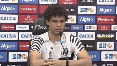Santos treina para encarar o Santa Fe pela Libertadores - Partida será realizada nesta quinta-feira (4), no Pacaembu.