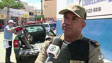 Comando do 4º Batalhão da Polícia Militar dá início a 'Operação Rone' em Caruaru - Meta é reduzir os índices de criminalidade na cidade e na zona rural.