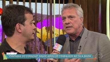 Pedro Bial conta que procurou Jô Soares antes da estreia de 'Conversa com Bial' - Talk Show estreia na madrugada desta terça e vai ao ar diariamente com papos divertidos e interessantes