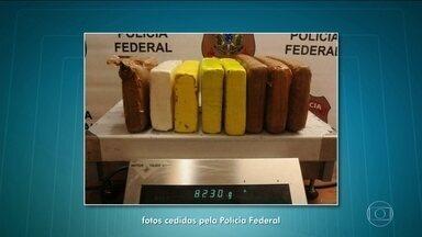 Número de prisões por tráfico de drogas no Aeroporto de Guarulhos aumenta 50% - Só neste feriado, 10 passageiros foram presos transportando 40 quilos de drogas.