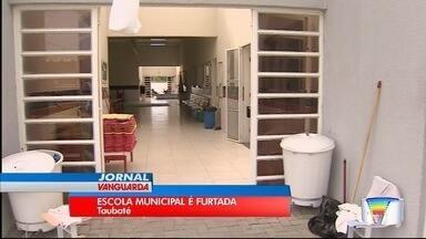Escola municipal da Vila São José é furtada - Neste ano já são dez invasões a escolas.