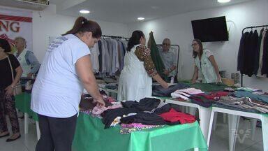 Brechó arrecada fundos para Casa da Esperança de Santos - Evento vai auxiliar na manutenção dos programas da instituição.