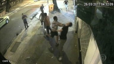 Suspeito de envolvimento no assassinato de argentino no Rio é preso - A polícia prendeu um dos suspeitos de envolvimento no assassinato de um argentino, no Rio.