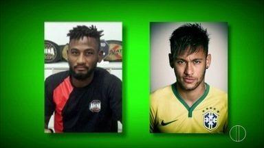 Lutador de MMA é considerado o sósia do Neymar - Confira a seguir.