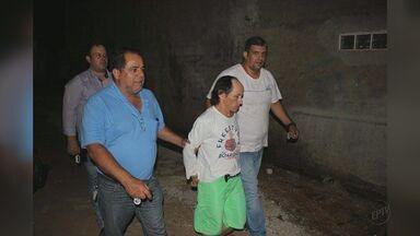 Polícia Civil de Mococa prende homem suspeito de pedofilia em Guaxupé, MG - Segundo o delegado, o suspeito já havia sido preso por abusar de um garoto de 10 anos. Ele foi solto no ano passado, e é suspeito de abusar de outros dois meninos.