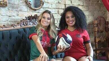 Musa do Gauchão: candidatas do Brasil de Pelotas e do São Paulo-RS disputam o título - Thaís Lopes, do Leão, e Victória Barella, do Xavante, estão na grande final.