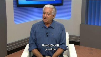 O repórter Francisco José lança livro sobre sua carreira em Campina Grande - O repórter comemora mais de quatro décadas de jornalismo com livro sobre experiências na TV.