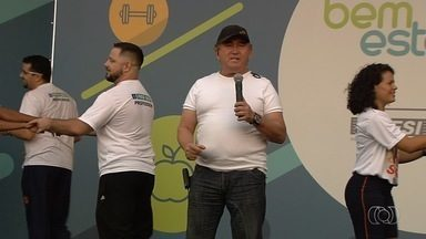 Amado Batista convida para o Bem Estar Global em Goiânia - Evento será realizado nesta sexta-feira (5), a partir das 8h, no estacionamento do Mutirama.