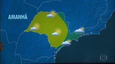 Confira a previsão do tempo para o sábado (6) em São Paulo - Pela manhã, ainda chove, mas ao longo do sábado (6) a chuva vai perdendo força na Região Metropolitana.