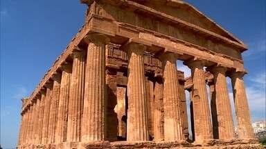 Ruínas de cidade que abrigou 200 mil pessoas são mistério em Agrigento - São as ruínas mais importantes da Sicília e as mais bem preservadas fora da Grécia. Seiscentas mil pessoas visitam por ano o sítio arqueológico.