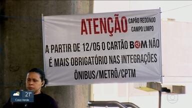 Usuários embarcam sem o Cartão Bom na estação de Campo Limpo e no terminal Capão Redondo - A mudança permite o embarque gratuito na integração na Zonal Sul.