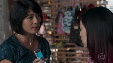 Mitsuko questiona Tina sobre foto com Anderson - Ellen pede para o irmão ir devagar com Tina