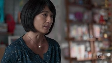 Mitsuko manda Tina se afastar de Anderson e Ellen - A menina não aceita a interferência da mãe