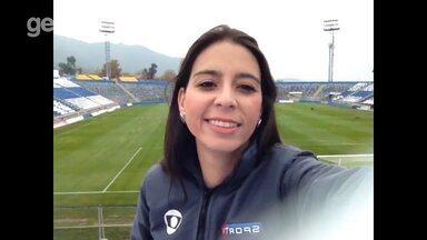 Direto do palco do jogo, Nadja Mauad fala das últimas do Atlético-PR; confira a escalação - Direto do palco do jogo, Nadja Mauad fala das últimas do Atlético-PR; confira a escalação