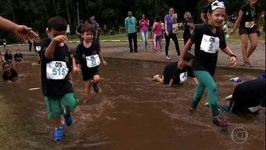 Corrida de aventura agita criançada - Corrida de aventura agita criançada