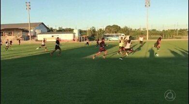Campinense treina em São Sebastião de Lagoa de Roça de olho na estreia da Série D - Raposa encara o Atlético-PE no próximo domingo, em Carpina