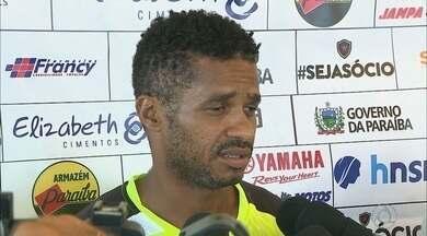Botafogo-PB faz o último treino antes da viagem para Fortaleza - Belo treinou na Vila Olímpica Parahyba em busca de melhor entrosamento para a partida de sexta-feira contra o Fortaleza