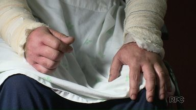 Homem fica ferido após ser atingido com um ácido em um ataque homofóbico - Vítima teve queimaduras graves e pode perder a visão.