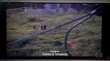 Suspeitos de tentativa de assalto na porta da Ceasa, em Contagem, são presos - Câmeras de segurança flagraram toda a ação.