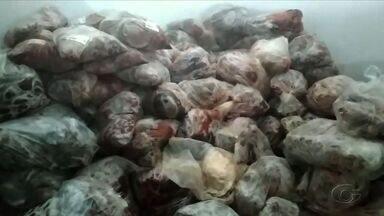 Cerca de 5,5 toneladas de carne são apreendidas em Arapiraca - Apreensão ocorreu durante ação da FPI, nesta quarta-feira (17).