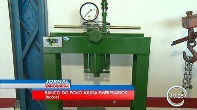 Banco do Povo oferece crédito a juros baixos em Jacareí - Volume de empréstimos aumentou.